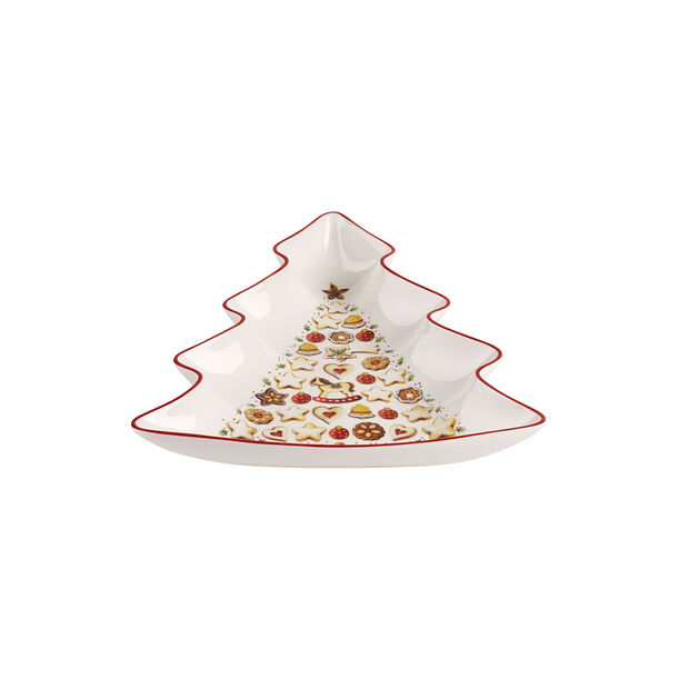 Winter Bakery Delight duża miska choinka, , large