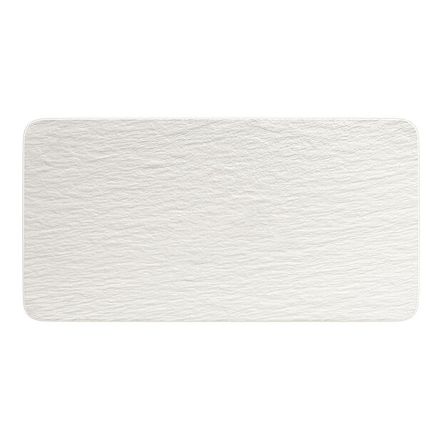 Manufacture Rock Blanc prostokątny półmisek, biały, 35 x 18 x 1 cm, , large