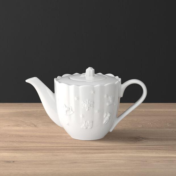 Toy's Delight Royal Classic dzbanek do kawy, biały, 1 l, , large