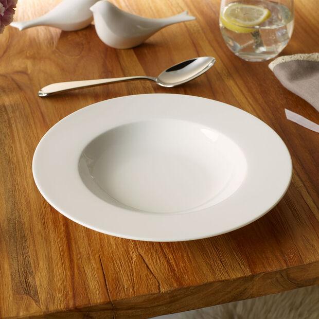 Twist White talerz głęboki, , large