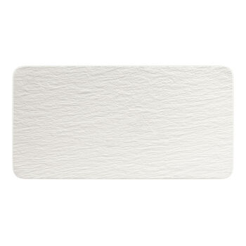 Manufacture Rock Blanc prostokątny półmisek, biały, 35 x 18 x 1 cm