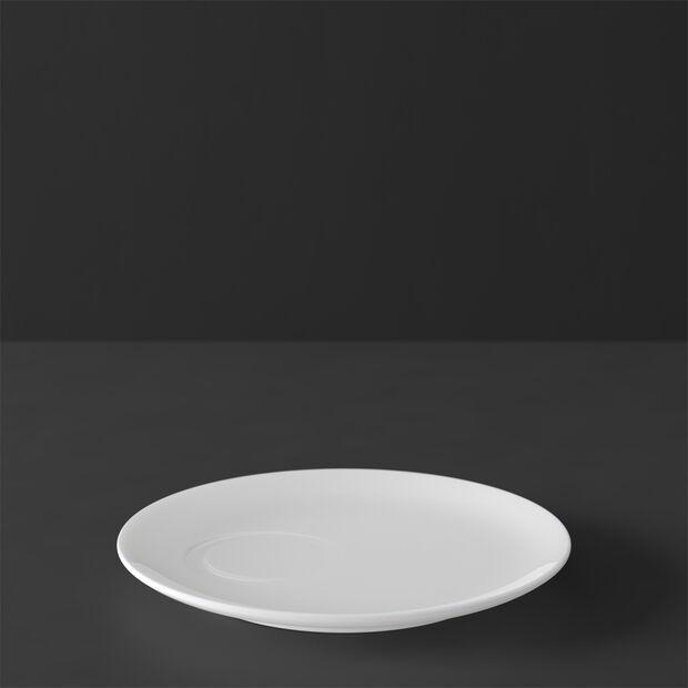 MetroChic blanc Spodek do filiżanki do espresso 14,5x14,5x1,5cm, , large