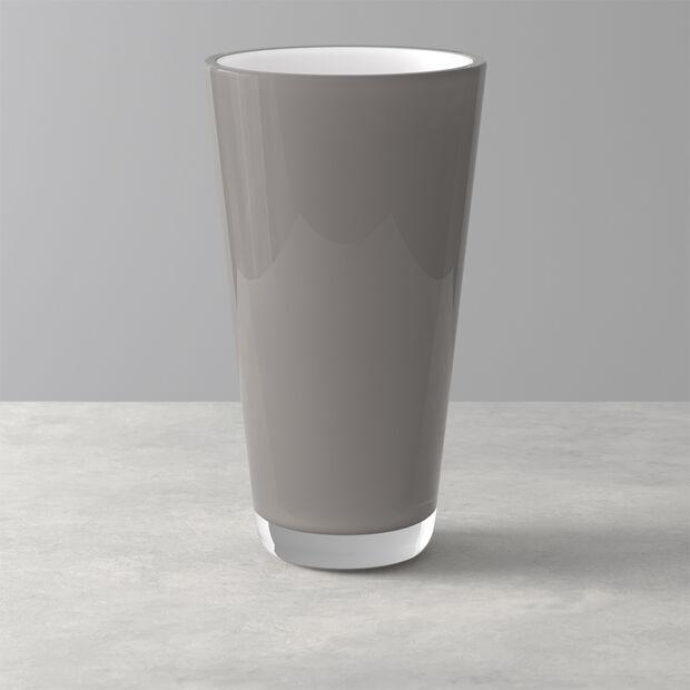 Verso wazon w kolorze pure stone 250mm, , large