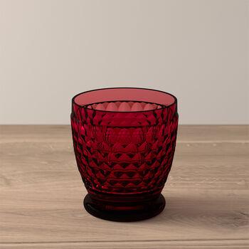 Boston Coloured Szklanka do wody/koktajli czerwona