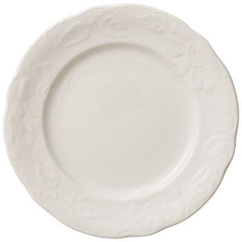 Rose Sauvage blanche talerz śniadaniowy