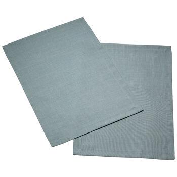 Textil Uni TREND podkładka niebieski lis zestaw 2-częściowy 35x50cm