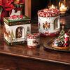 Christmas Toys Pudełko duże, kwadrat., Św. Mikołaja 16x16x20cm, , large