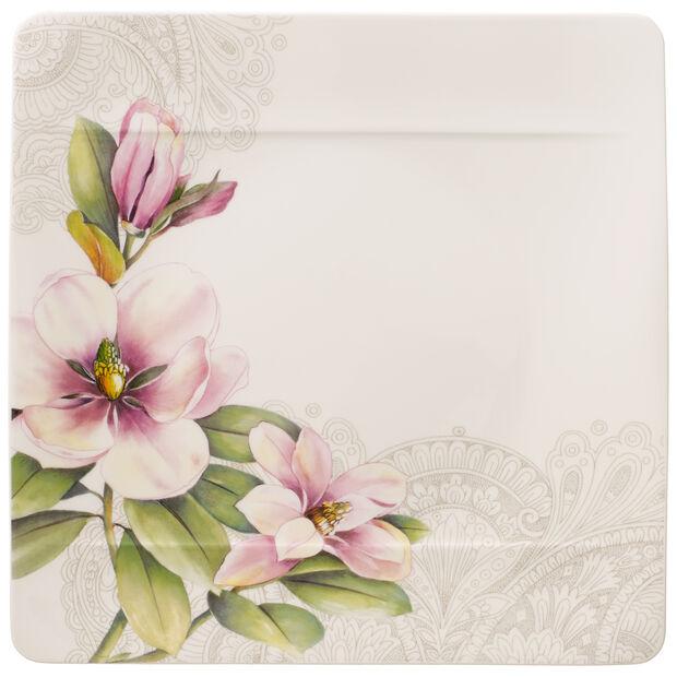 Quinsai Garden talerz płaski magnolia motyw D, , large