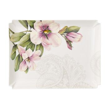 Quinsai Garden Gifts duży talerz dekoracijny 28x21cm