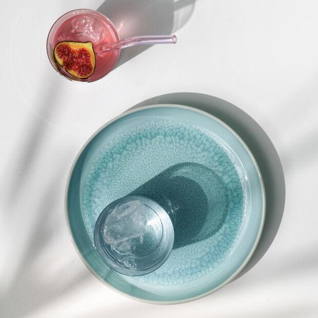 Crafted Blueberry talerz głęboki, turkusowy, 21,5 cm, , large
