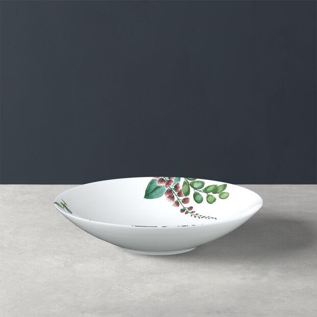 Avarua talerz głęboki, 22cm, biały/wielokolorowy, , large