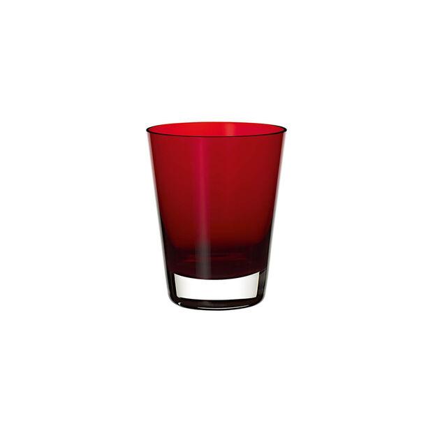 Colour Concept szklanka do wody/koktajli Red, , large