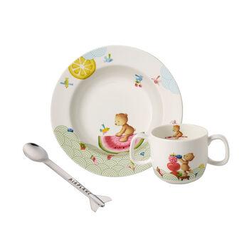 Hungry as a Bear zestaw naczyń dla dzieci, 3-częściowy
