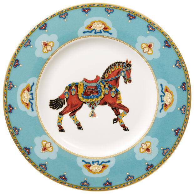 Samarkand Aquamarin talerz śniadaniowy, , large