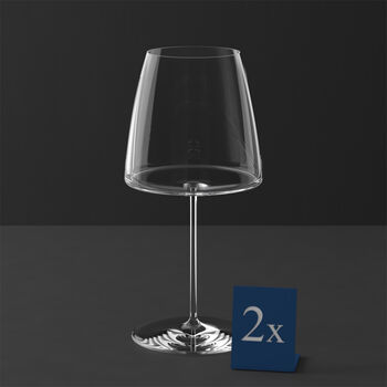 MetroChic kieliszek do czerwonego wina, 2 szt., 830 ml