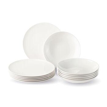vivo | Villeroy & Boch Group New Fresh Basic Zestaw obiadowy, 12-częściowy