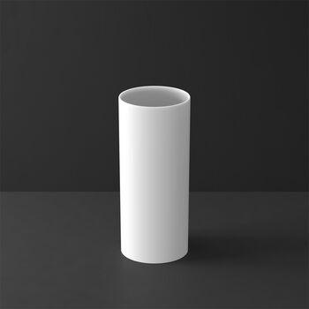 MetroChic blanc Gifts Wazon wysoki 13x13x30,5cm