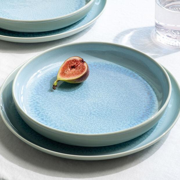 Crafted Blueberry talerz płaski, turkusowy, 26 cm, , large