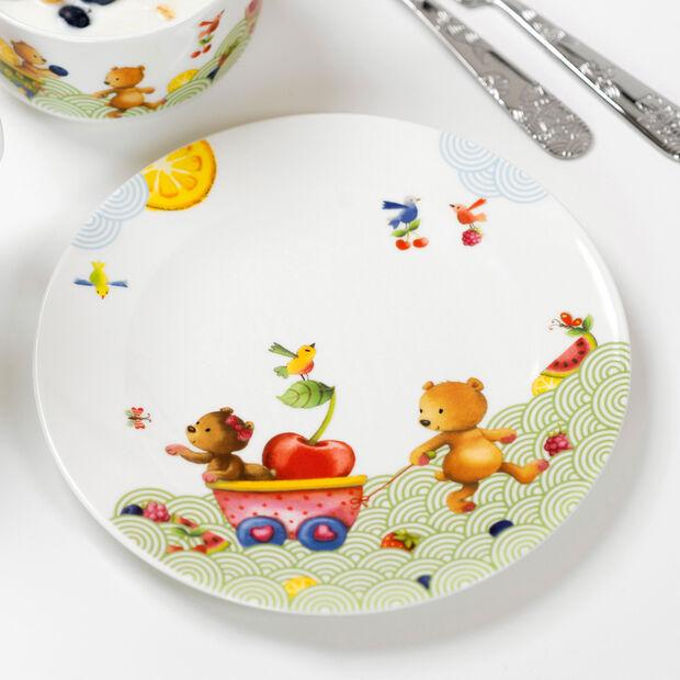Hungry as a Bear Talerz obiadowy 21,5x21,5x1,5cm, , large