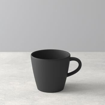 Manufacture Rock filiżanka do kawy, czarny/szary, 10,5 x 8 x 7,5 cm