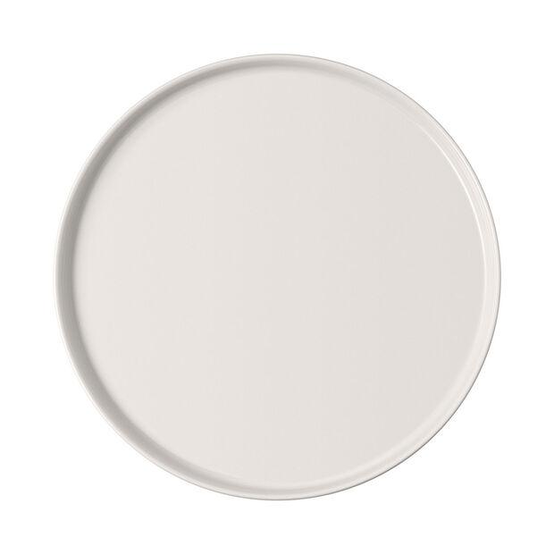 Iconic talerz uniwersalny, biały, 24 x 2 cm, , large