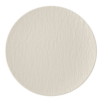 Manufacture Rock blanc Talerz gourmet 31,5x31,5x2,5cm
