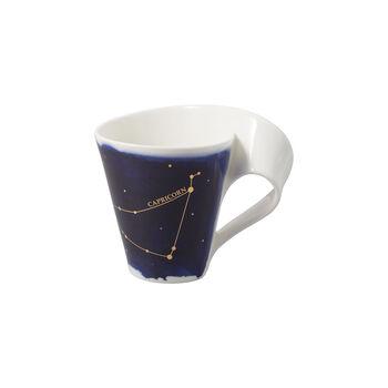 NewWave Stars kubek Koziorożec, 300 ml, niebieski/biały