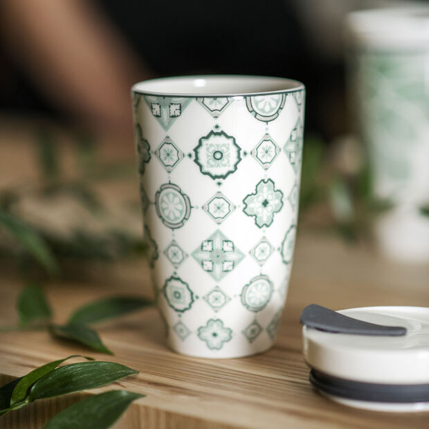 Modern Dining To Go Jade kubek Coffee to Go, , large
