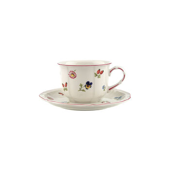 Petite Fleur zestaw do cappuccino 2 el.