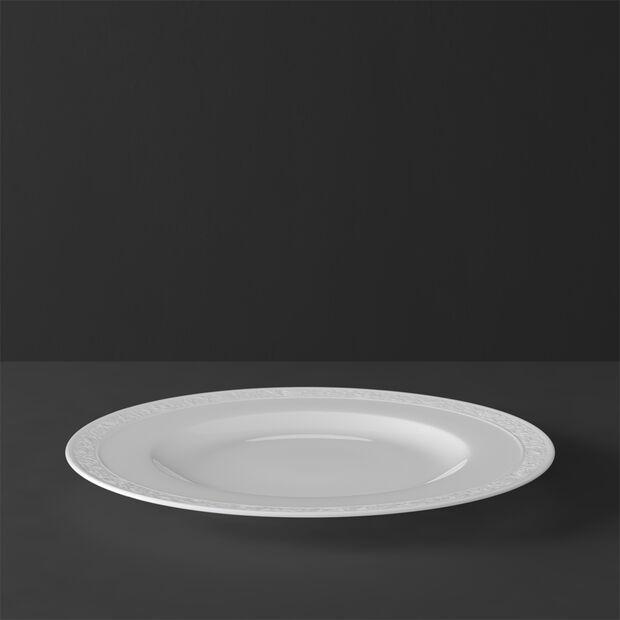 White Pearl talerz płaski, , large