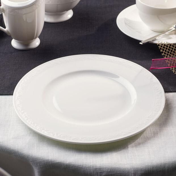 White Pearl talerz śniadaniowy, , large