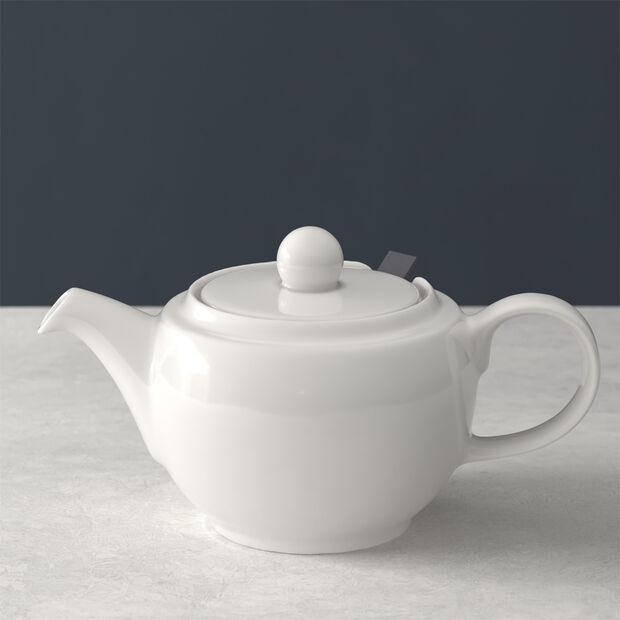 For Me dzbanek do herbaty, biały, 450 ml, , large