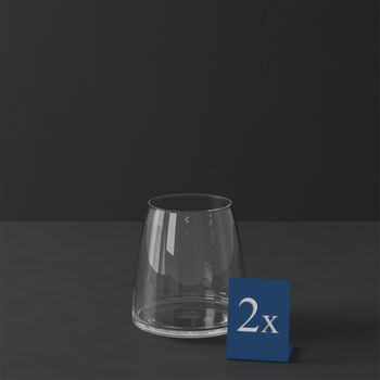 MetroChic szklanka do wody, 2 szt., 110 cm, 565 ml