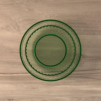 Boston Coloured talerz do sałatki i deseru, zielony, 21 cm