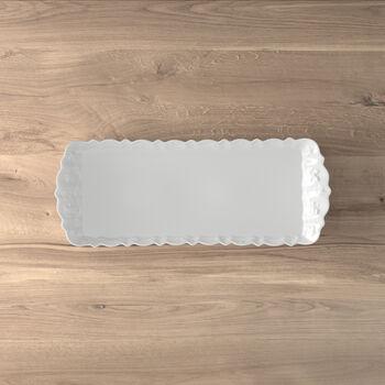 Toy's Delight Royal Classic taca na ciasto, biała, 40 x 16 cm