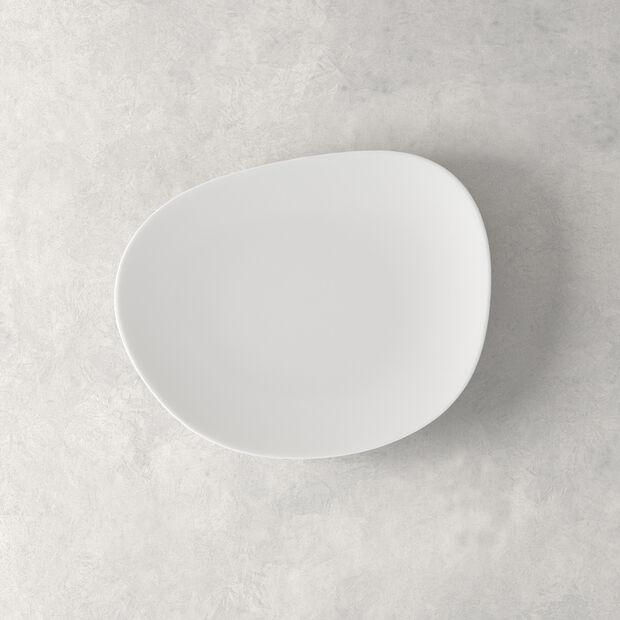 Organic White talerz śniadaniowy, biały, 21 cm, , large