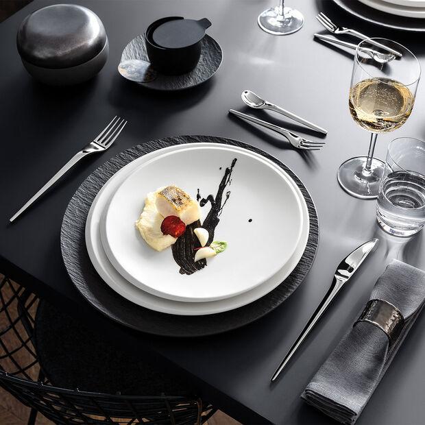 NewMoon talerz śniadaniowy, 24 cm, biały, , large