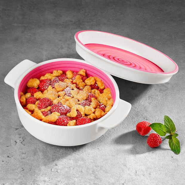 Clever Cooking Pink półmisek / okładka okrągły, , large