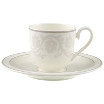 Gray Pearl Filiżanka do espresso ze spod. 2 szt.