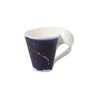 NewWave Stars kubek Baran, 300 ml, niebieski/biały