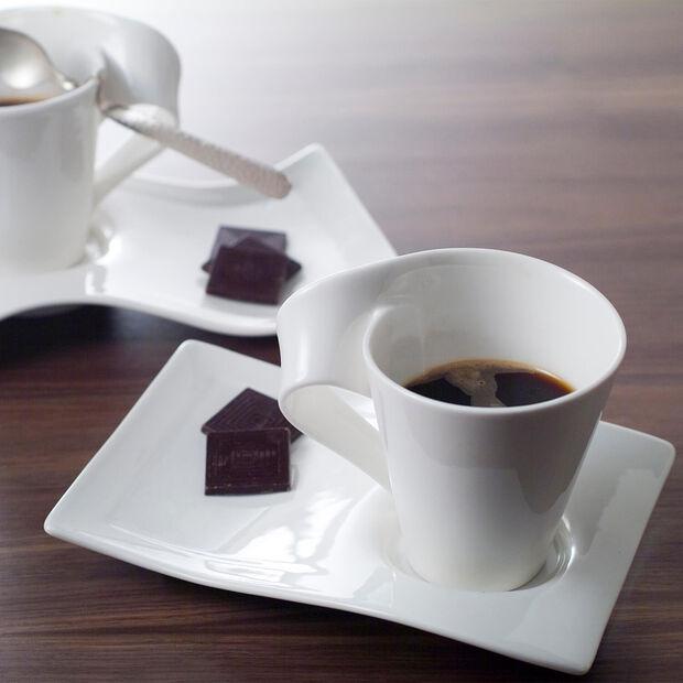 NewWave Caffè duży spodek do filiżanki do kawy 22 x 17 cm, , large