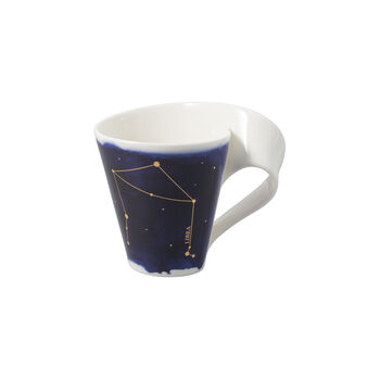NewWave Stars kubek Waga, 300 ml, niebieski/biały