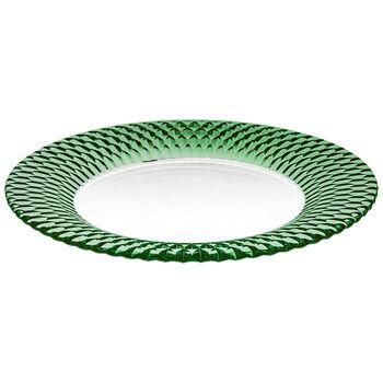 Boston Coloured talerz baza, zielony, 32 cm