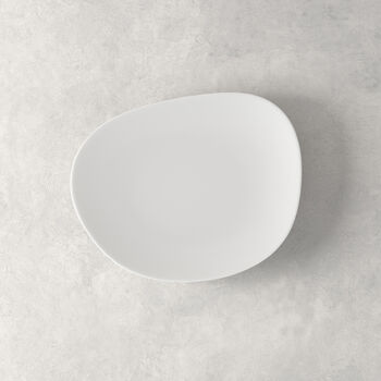 Organic White talerz śniadaniowy, biały, 21 cm
