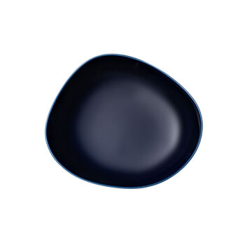 Organic Dark Blue głęboki talerz, ciemnoniebieski, 20 cm