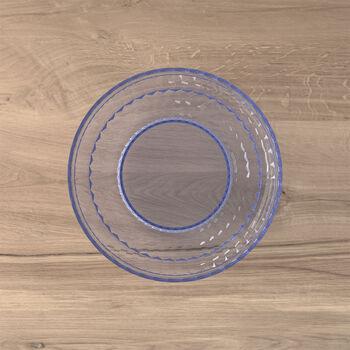 Boston Coloured talerz do sałatki i deseru, niebieski, 21 cm