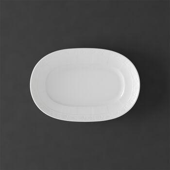 White Pearl Talerz Pikle/Podst.do sosjerki 22cm 22cm
