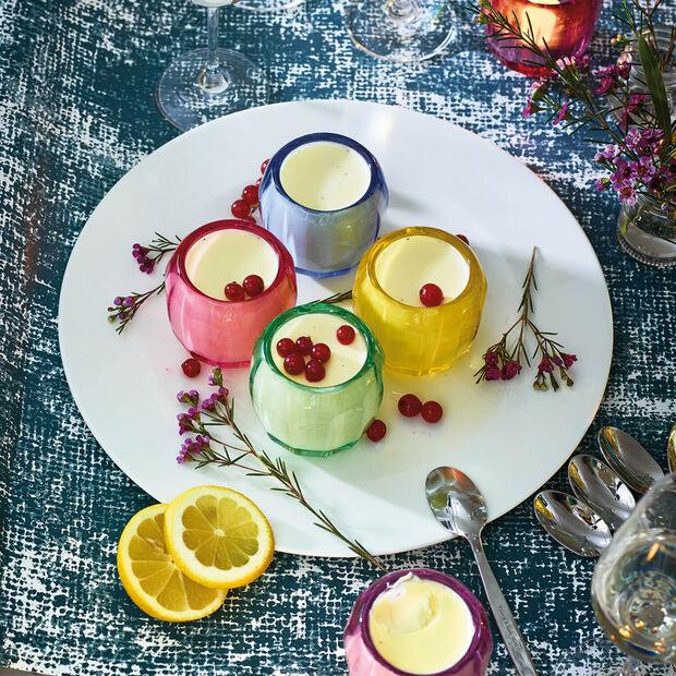 Coloured DeLight mały świecznik na tealight Noble Rose, , large