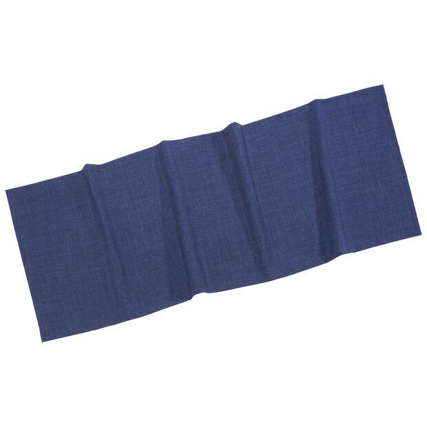 Textil Uni TREND bieżnik ciemno niebieski 50x140cm, , large