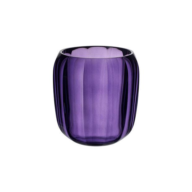 Coloured DeLight szklany świecznik Gentle Lilac, , large